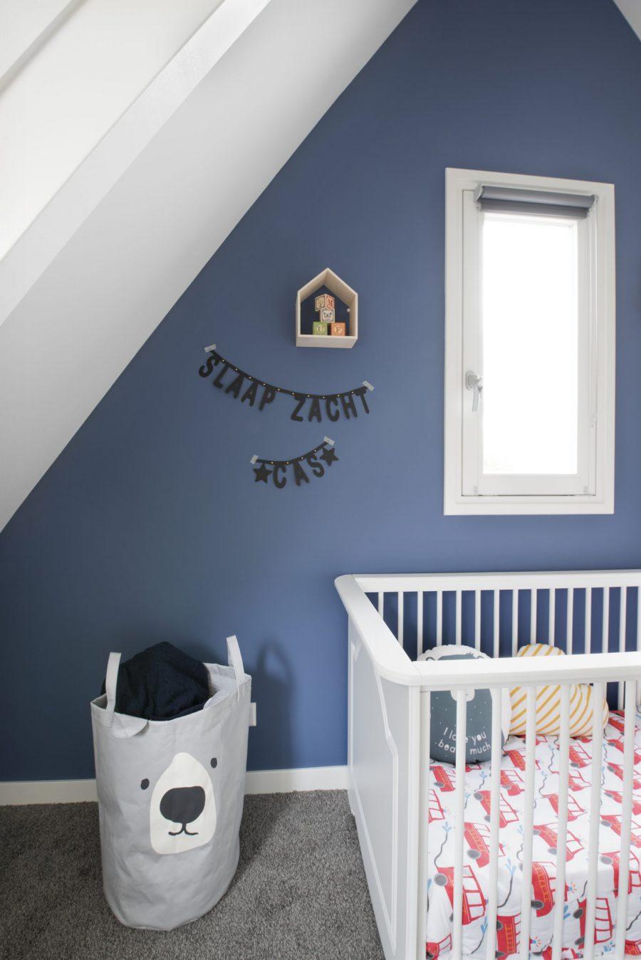 Kinderkamer jongenskamer interieuradvies styling interieurontwerp Hedel
