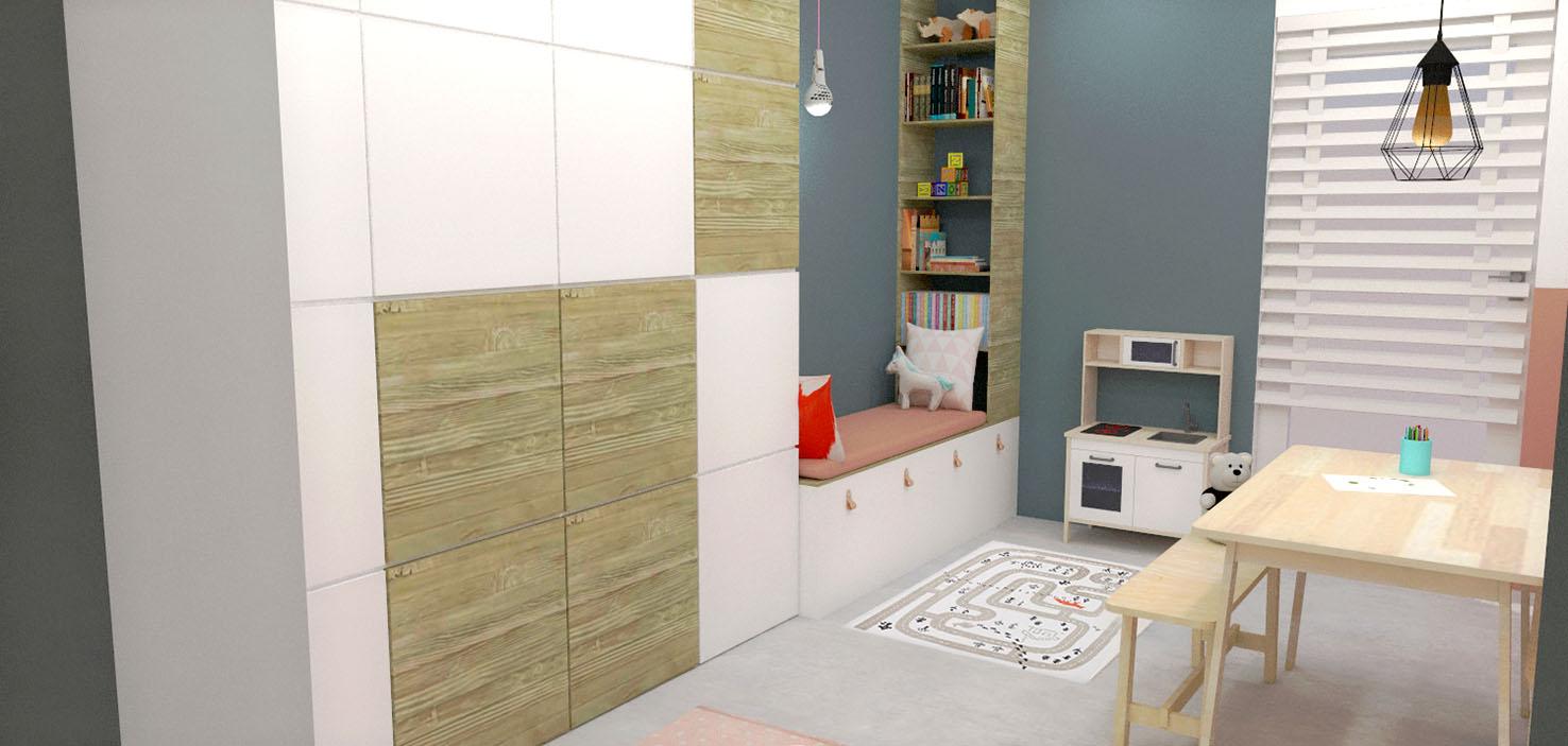 Speelkamer interieurontwerp nieuwbouwhuis interieuradvies mierlo eindhoven binnenhuisarchitect