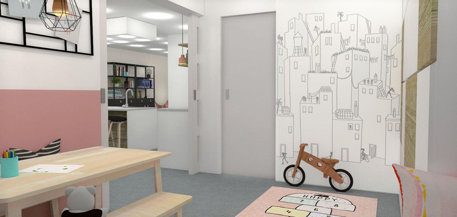 Speelkamer interieurontwerp nieuwbouwhuis interieuradvies mierlo eindhoven