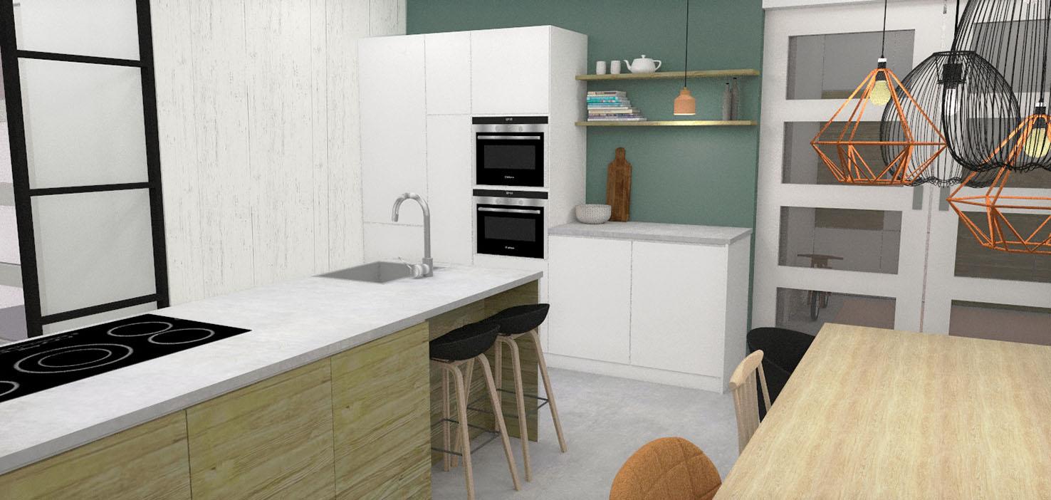 keuken-nieuwbouwhuis-interieur-ontwerp-advies-styling-3d-visualisatie