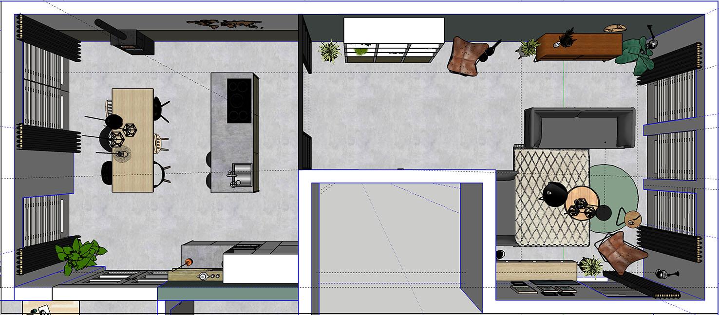 nieuwbouwhuis interieurontwerp interieuradvies styling 3d visualisatie Mierlo Eindhoven