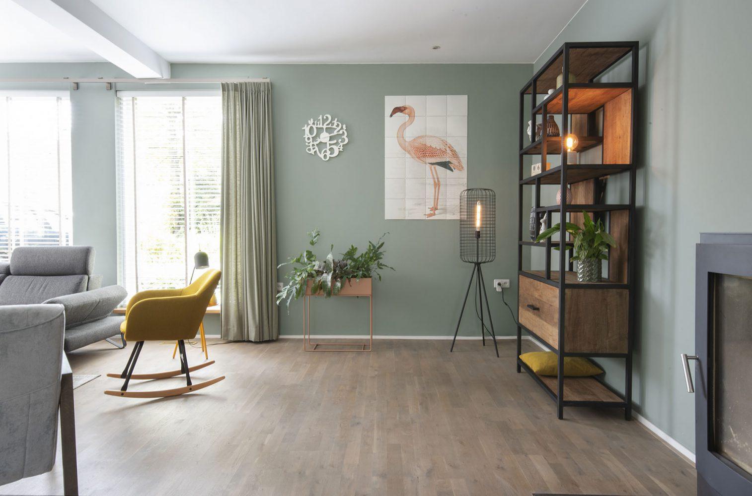 Huiskamer interieuradvies Drunen styling studiok2k binnenhuisarchitect