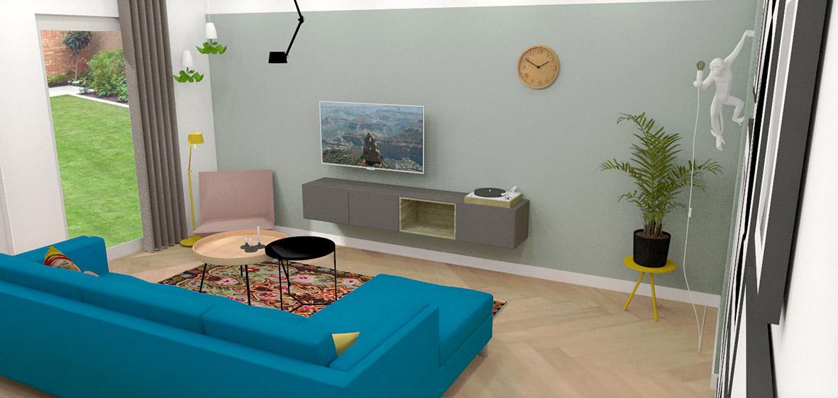 Woonkamer interieuradvies interieurontwerp Breda stylingadvies Teteringen