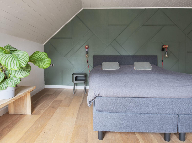 Slaapkamer interieuradvies interieurontwerp Heeswijk Dinther styling kleuradvieskopie