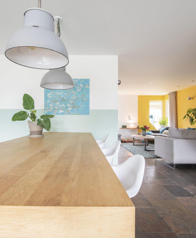 Woonkamer eethoek interieurontwerp interieuradvies styling heeswijk dinther vlijmen