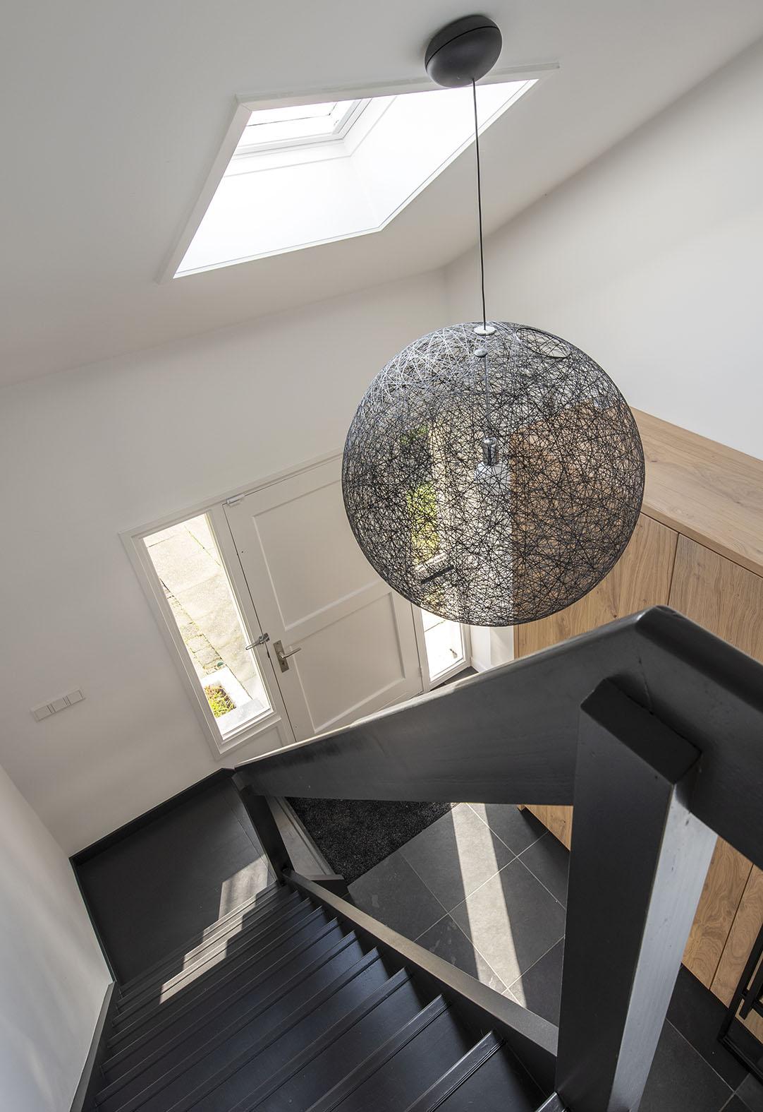 hal inspiratie interieuradvies Den Bosch Interieurontwerp Drunen welke kleur trap