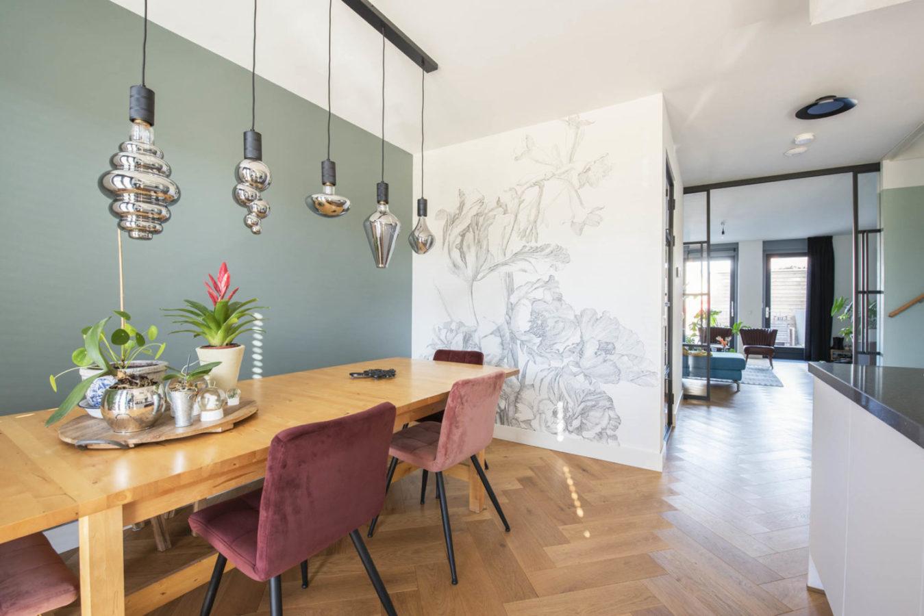 Keuken Teteringen interieurontwerp interieuradvies breda styling behang