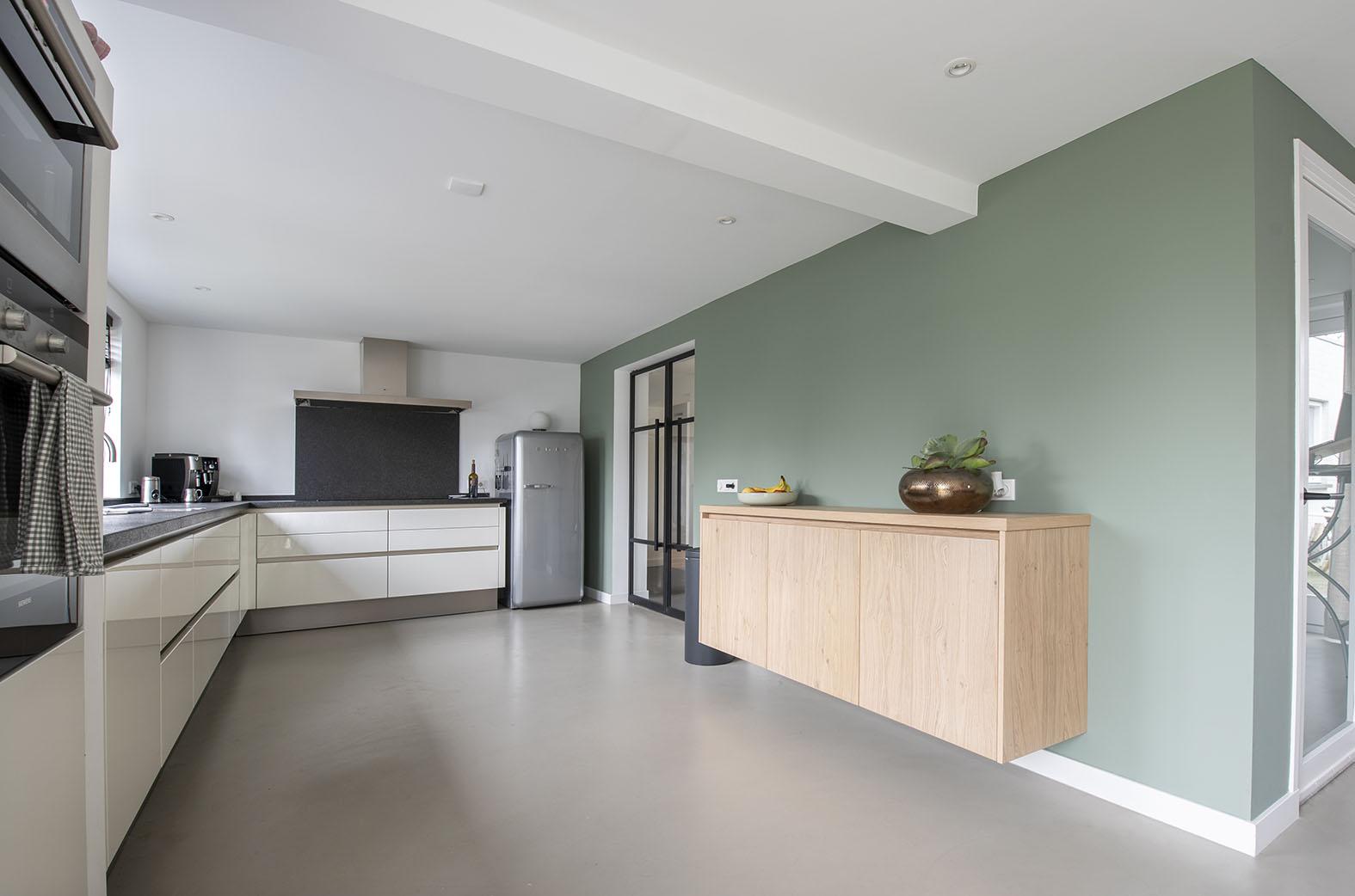 eetkeuken woonkeuken inspiratie interieuradvies Den Bosch grote woonkeuken
