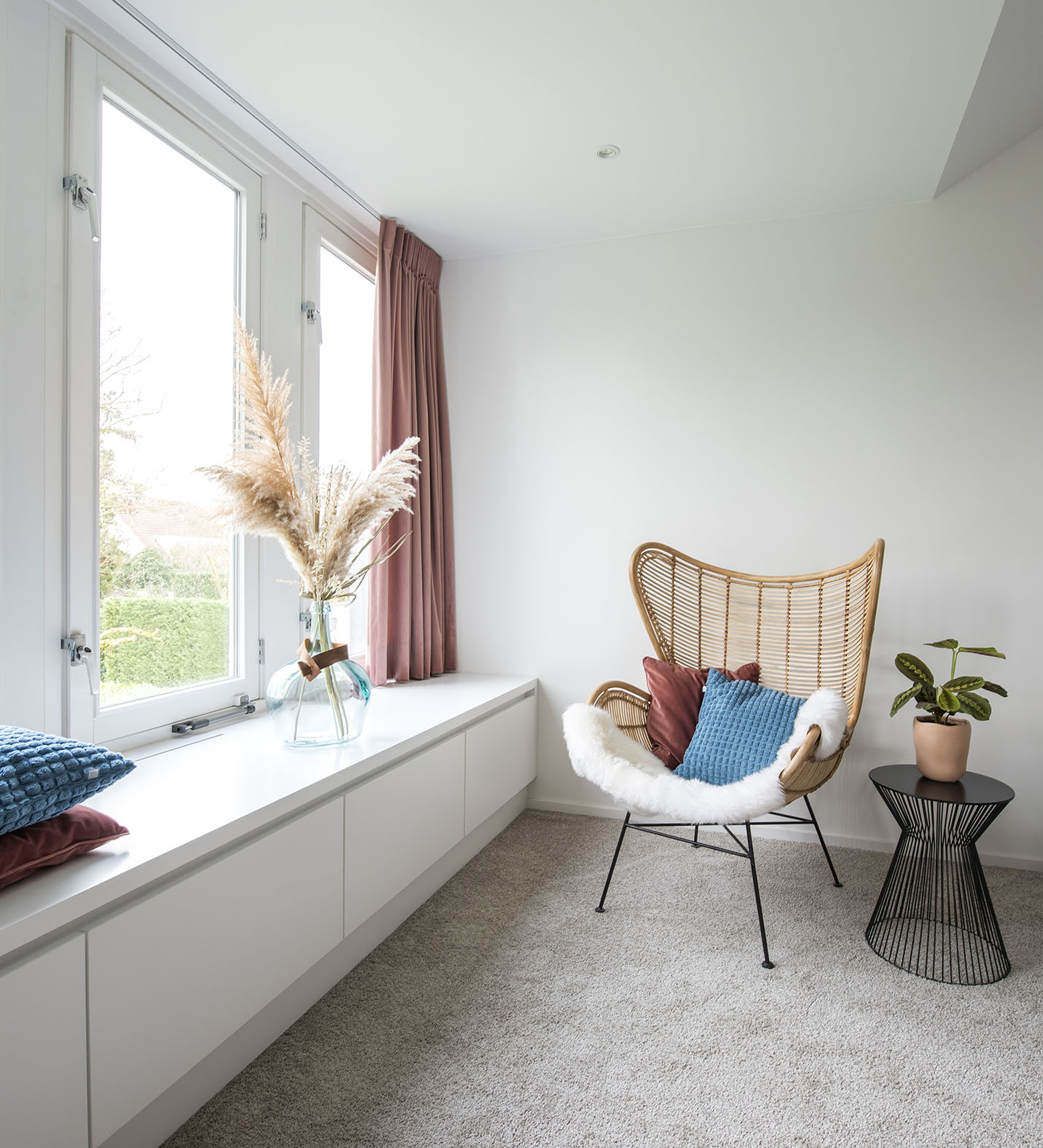 Slaapkamer hk living stoel interieuradvies Den Bosch Engelen slaapkamer stylen studio k2k
